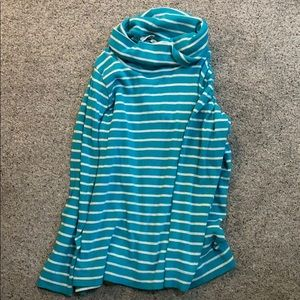 LLBEAN sweater/shirt with cowl neck
